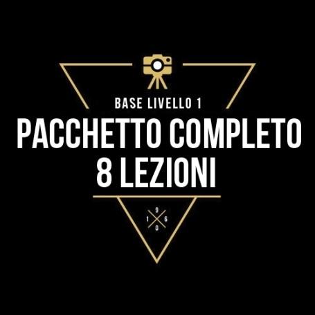 PACCHETTO COMPLETO - 8 LEZIONI INDIVIDUALI LIV.1