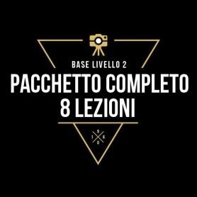 PACCHETTO COMPLETO - 8 LEZIONI INDIVIDUALI LIV.2
